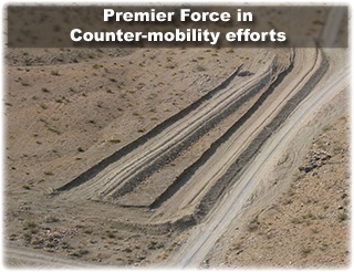 The Power Dozer is a premier force in counter-mobility efforts