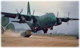 Power Dozer APU and blade are C-130 deliverable